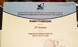 penghargaan STTS